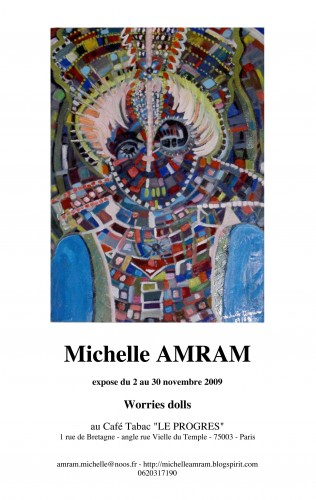 Michelle expo progrès 021109 affiche.jpg